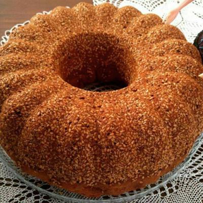 طرز تهیه کیک ارده و کنجد