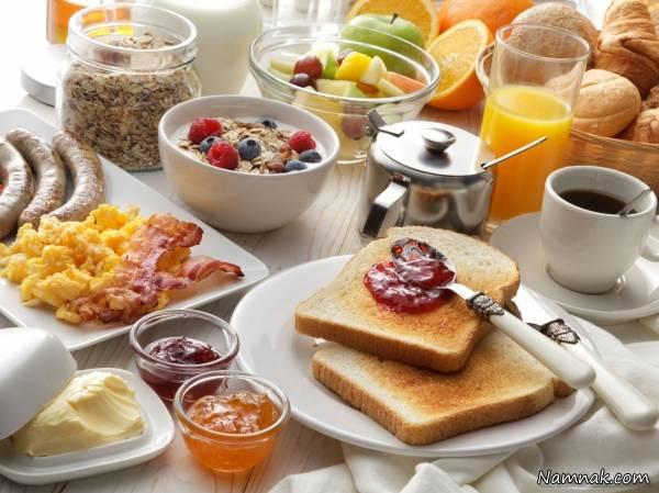 چیدمان میز صبحانه خوشگل و با سلیقه + عکس