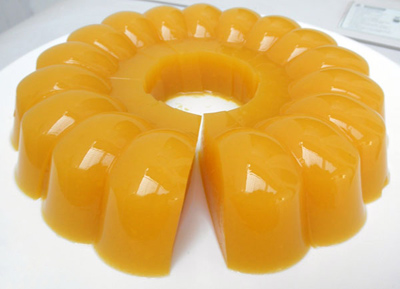طرز تهیه دسر دنت پرتقالی