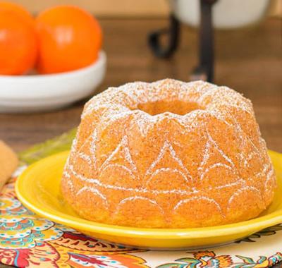 کیک ماست نارنگی